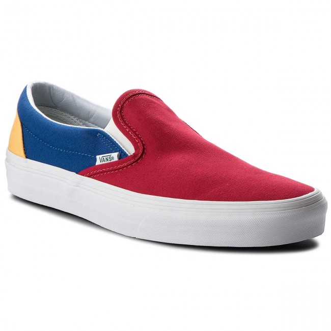 995341cd23e Tenisky VANS - Classic Slip-On VN0A38F7QF2 (Vans Yacht Club) Red Blu ...