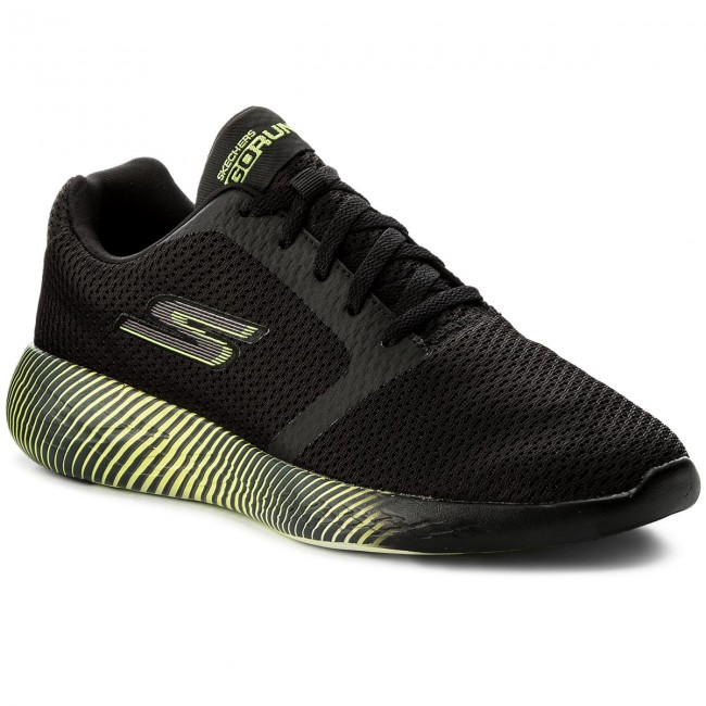 Boty SKECHERS - Go Run 600 55067 BKLM Black Lime - Fitness ... de51d41915