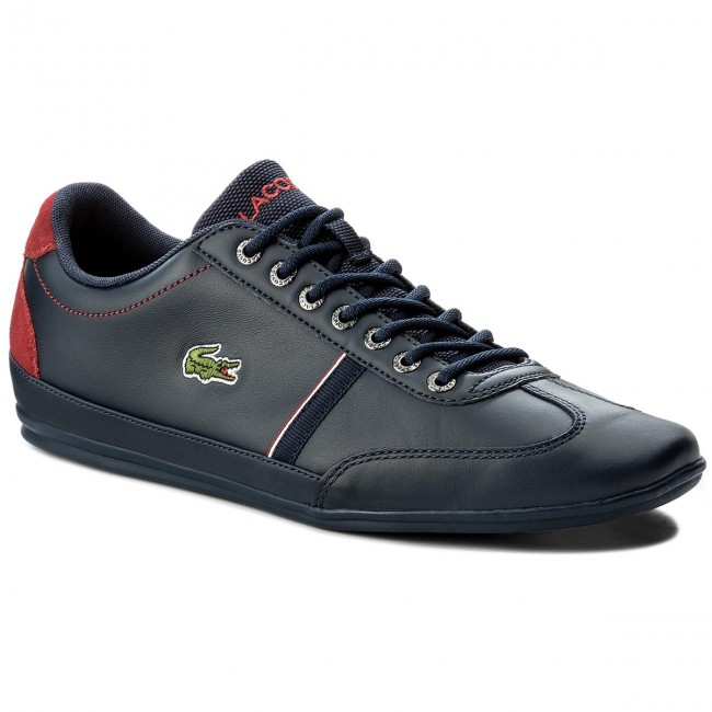 Sneakersy LACOSTE - Misano Sport 118 1 Cam 7-35CAM0083144 Nvy Red ... d6df9459ee7