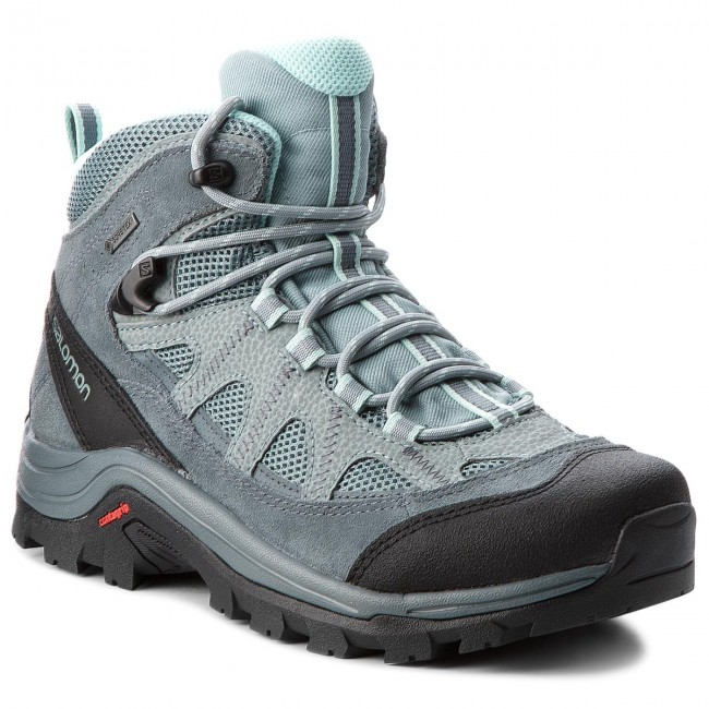 Trekingová obuv SALOMON - Authentic Ltr Gtx W GORE-TEX 404644 21 V0 Lead  a7cecc8cc49