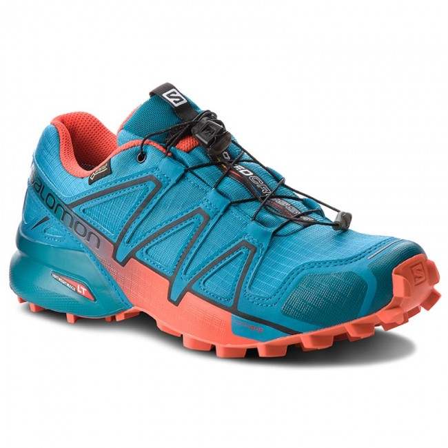 Boty SALOMON - Speedcross 4 Gtx GORE-TEX 404665 27 G0 Fjord Blue Cherry eaec972e951