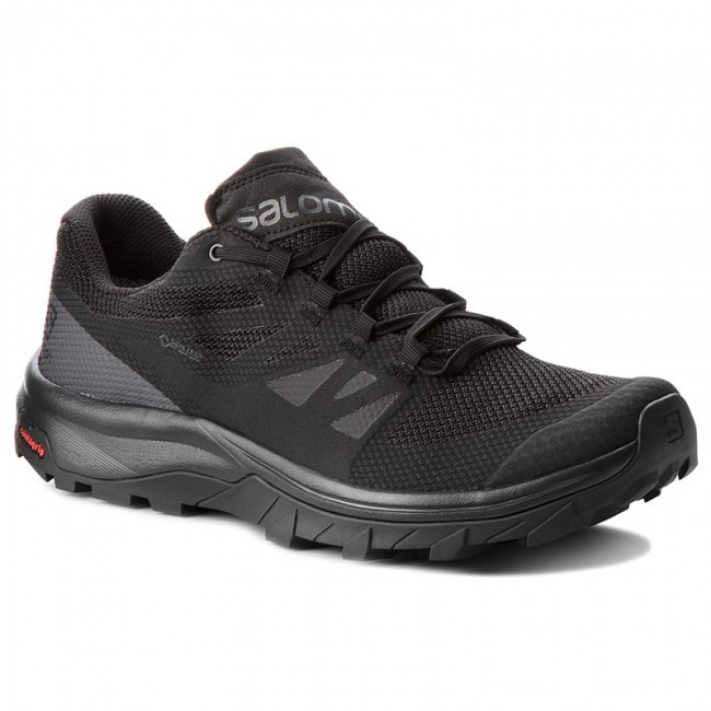 e10b9a706578 Trekingová obuv SALOMON - Outline Gtx GORE-TEX 404770 29 V0 Black Phantom  Magnet