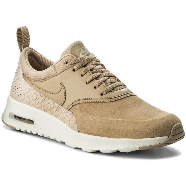 Boty NIKE - Air Max Thea Prm 616723 203 Linen Linen Sail - Sneakersy ... 090530caa0d