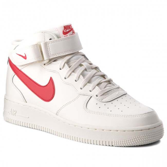 Boty NIKE - Air Force 1 Mid  07 315123 126 Sail University Red ... ce645c0ea8