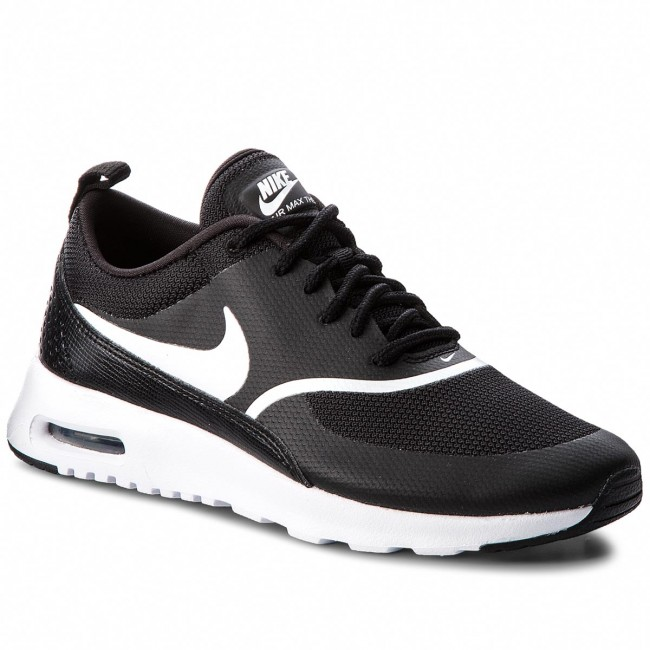 Boty NIKE - Air Max Thea 599409 028 Black White - Sneakersy ... c54d098f5b9