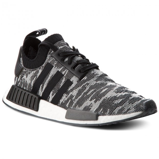 93c0e0d2b9a1 Boty adidas - NMD R1 PK CQ2444 Core Black Solar Red - Sneakersy ...