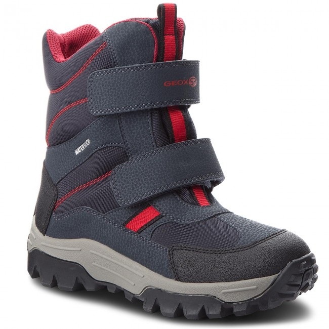 Sněhule GEOX - J Himalaya B.B Wpf B J843AB 050FU C0735 D Navy Red ... 653b5430d8