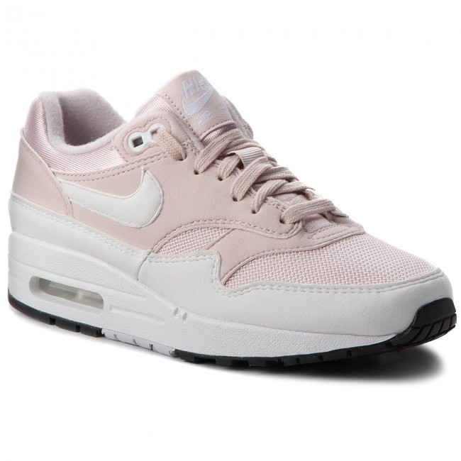 Boty NIKE - Air Max 1 319986 607 Barely Rose White - Sneakersy ... 86390556a0a