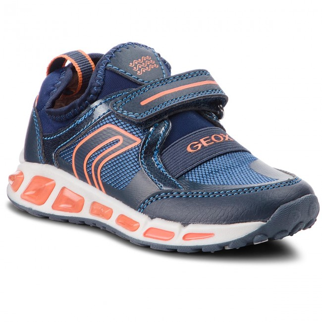 46e9c452ff8 Sneakersy GEOX - J Shuttle B. A J8494A 011FE C0820 M Navy Orange ...