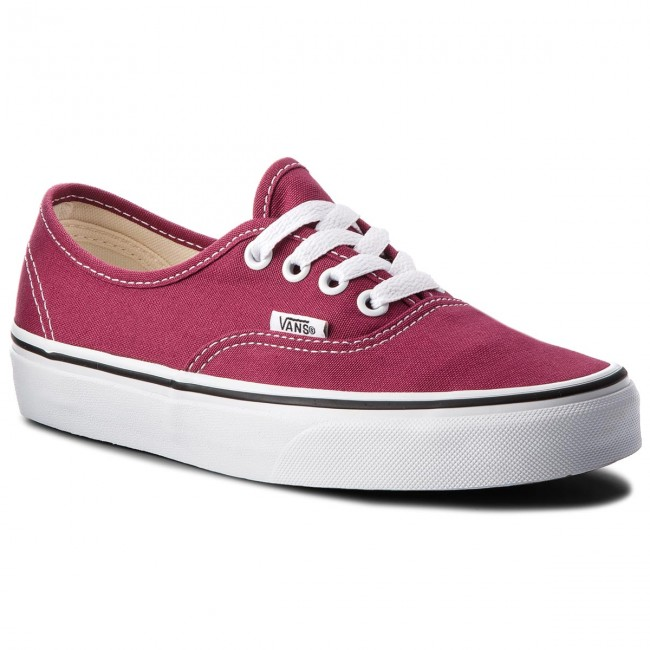 8798f2b53fd Tenisky VANS - Authentic VN0A38EMU64 Dry Rose True White - Plátěnky ...
