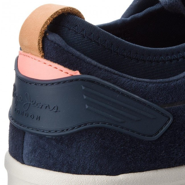 993edebec86 Sneakersy PEPE JEANS - Btn 01 PMS30471 Navy 595 - Sneakersy ...