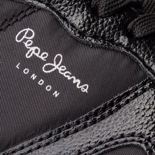 bb10c37bc6 Sneakersy PEPE JEANS - Zion Studs PLS30787 Black 999 - Sneakersy ...