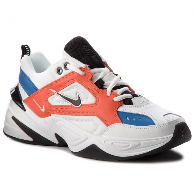 Boty NIKE - M2k Tekno AO3108 101 Summit White Black Team Orange ... 7500d6768d