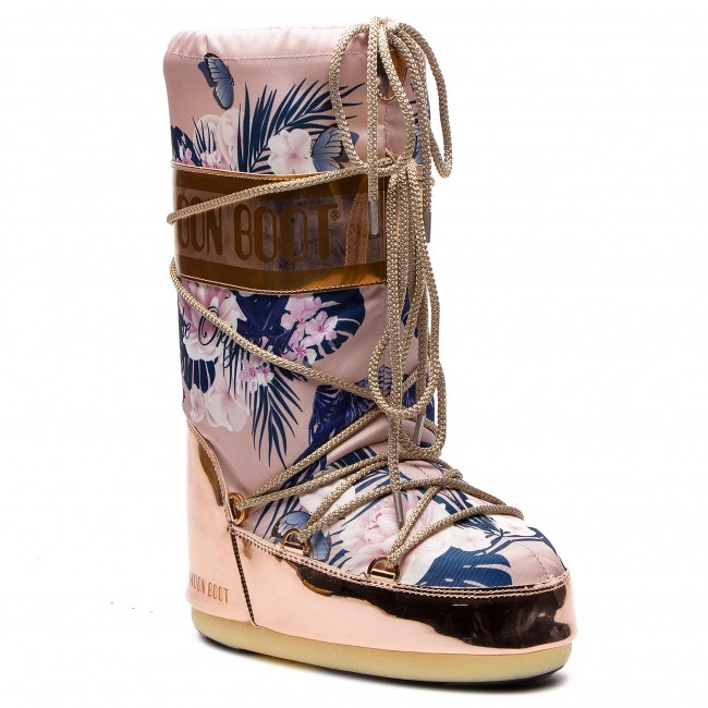 Sněhule MOON BOOT - Tropical Mirror 14024600001 Copper Cam Eo Rose ... 03e9881000