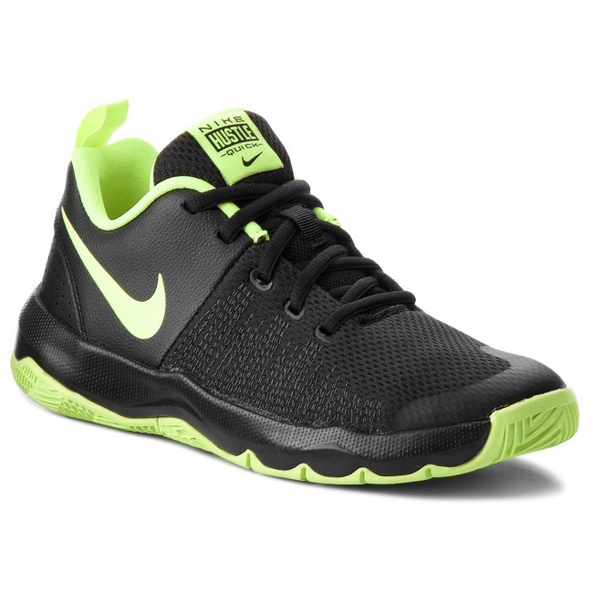 newest fc002 707a9 Boty NIKE - Team Hustle Quick (GS) 922680 009 Black Volt White