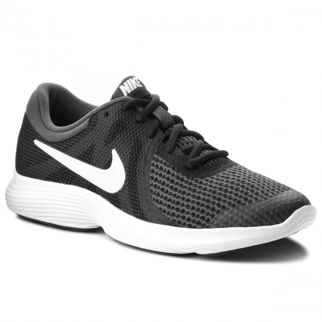 5dfeed9a495 Boty NIKE - Revolution 4 (GS) 943309 006 Black White Anthracite ...