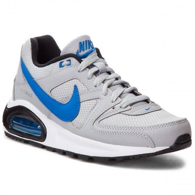 huge selection of 84aa3 c37c0 Boty NIKE - Air Max Command Flex (GS) 844346 007 Wolf Grey Signal