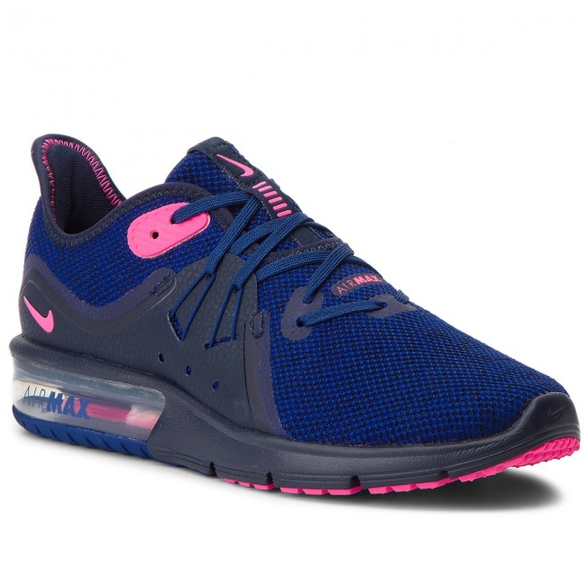 Boty NIKE - Air Max Sequent 3 908993 403 Obsidian Pink Blast ... fa118caabf