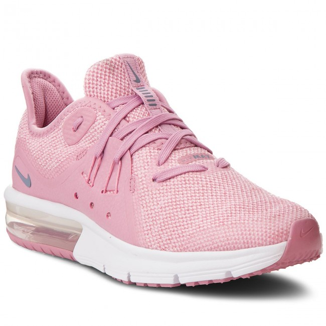 07e59f8d06c Boty NIKE - Air Max Sequent 3 (GS) 922885 601 Elemental Pink Ashen ...