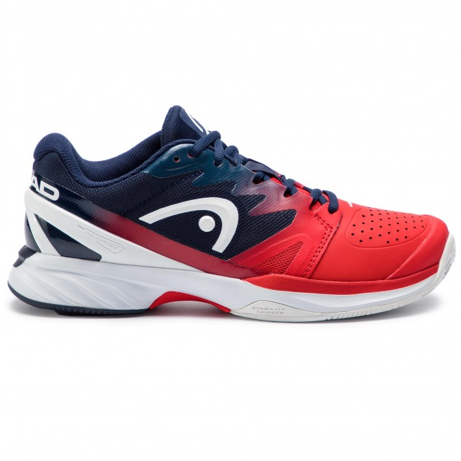 ba141c09a98 Boty HEAD - Sprint Pro 2.0 Clay 273118 Red Black Iris 065 - Tenis ...
