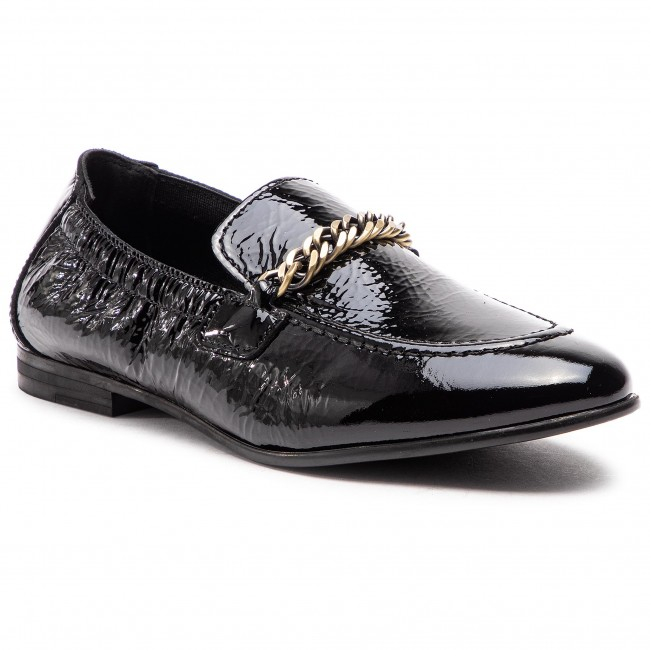 Lordsy TOMMY HILFIGER - Rubberized Chain Loafer FW0FW03763 Black 990 ... 5f5530b779