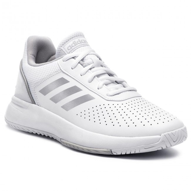 Boty adidas - Courtsmash F36262 Ftwwht Msilve Gretwo - Tenis ... 59d69f3f2b