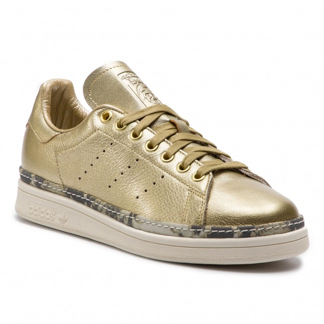 sports shoes 804c6 24ee2 Boty adidas - Stan Smith New Bold W F34120 Goldmt Goldmt Owhite