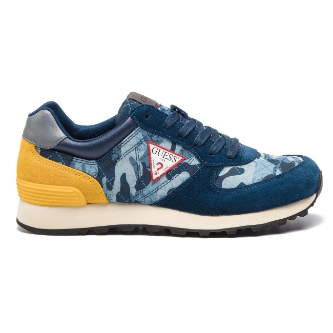3b8610200c Sneakersy GUESS - Charlie FM6CHA FAL12 BLUE - Sneakersy - Polobotky ...
