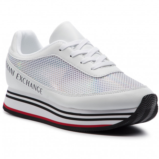 aafd9f6fe7 Sneakersy ARMANI EXCHANGE - XDX030 XV123 A222 White - Sneakersy ...