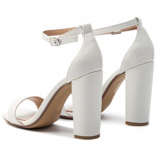 d00153e3910 Sandály STEVE MADDEN - Carrson SM11000008-03001 107 White Leather ...