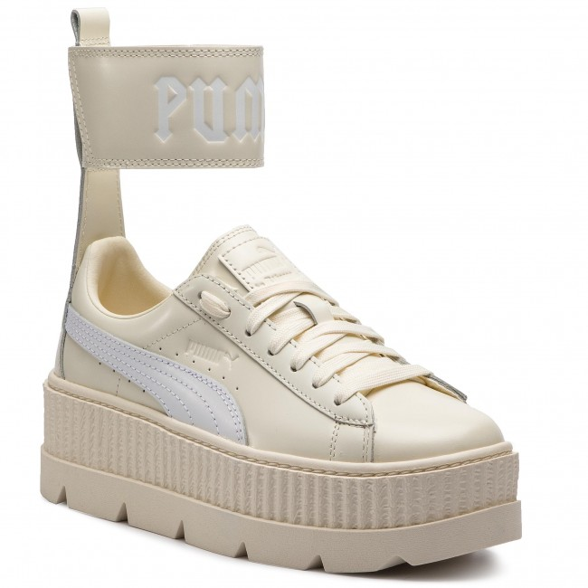 63d4af16b310 Sneakersy PUMA - Ankle Strap Sneaker Wn s 366264 02 Vanilla Ice Puma White