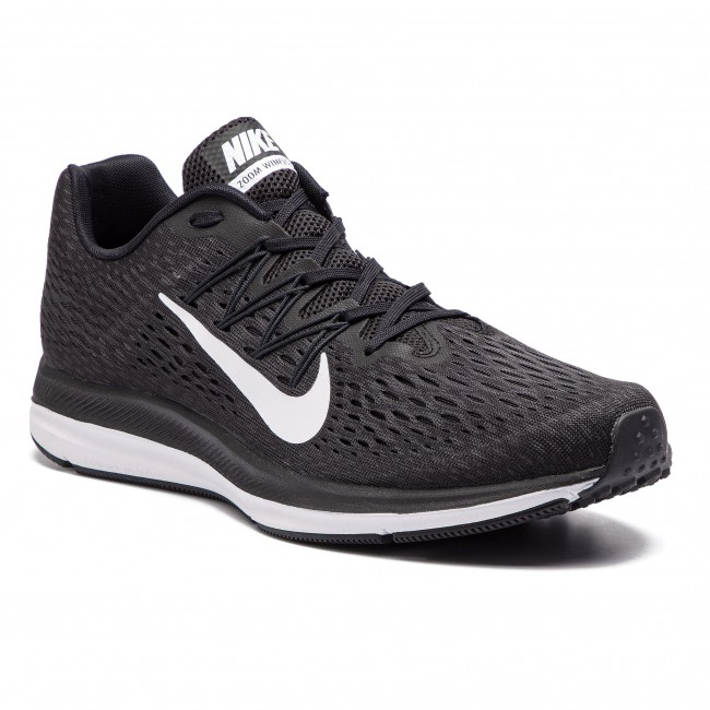 Boty NIKE - Zoom Winflo 5 AA7406 001 Black White Anthracite ... d2cb3350bf