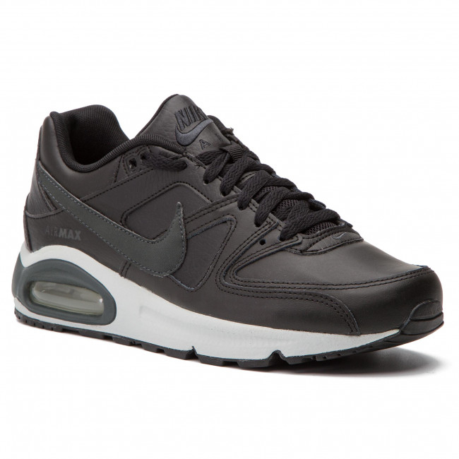 223e0a470425 Boty NIKE - Air Max Command Leather 749760 001 Black Anthracite Neutral Grey