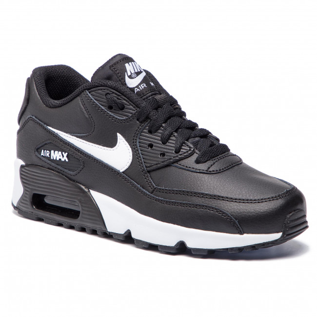 51572510c4d Boty NIKE - Air Max 90 Ltr 90 (GS) 833412 025 Black Whit Antracite ...