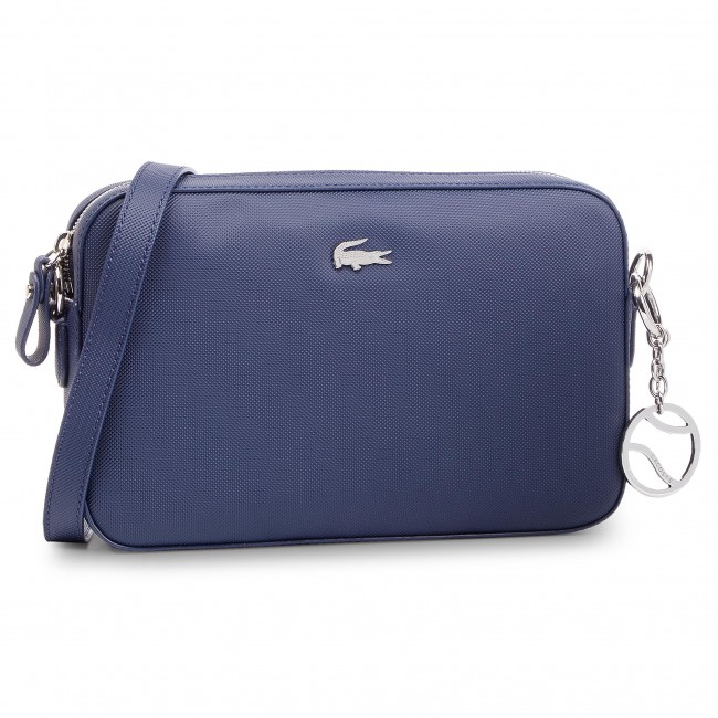 373e3bbd34 Kabelka LACOSTE - Square Crossover Bag NF2532DC Peacoat 021 ...