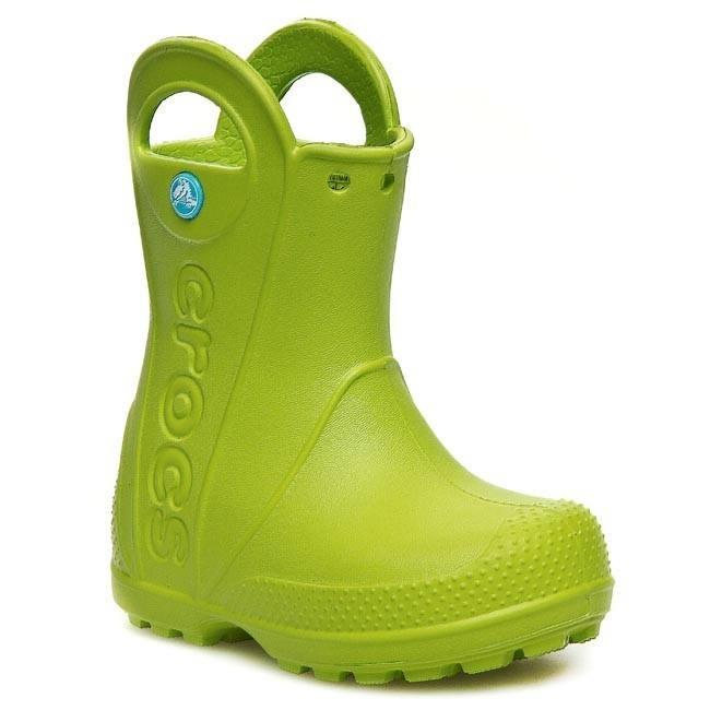 Holínky CROCS - Handle It Rain 12803 Volt Green - Holinky ... 27b0466122
