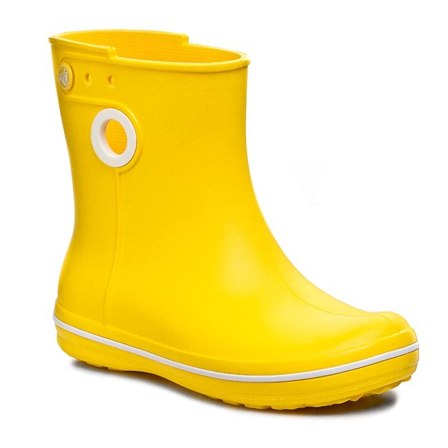 ee8e59dad9a Holínky CROCS - Jaunt Shorty Boot W 15769 Yellow - Textilie ...