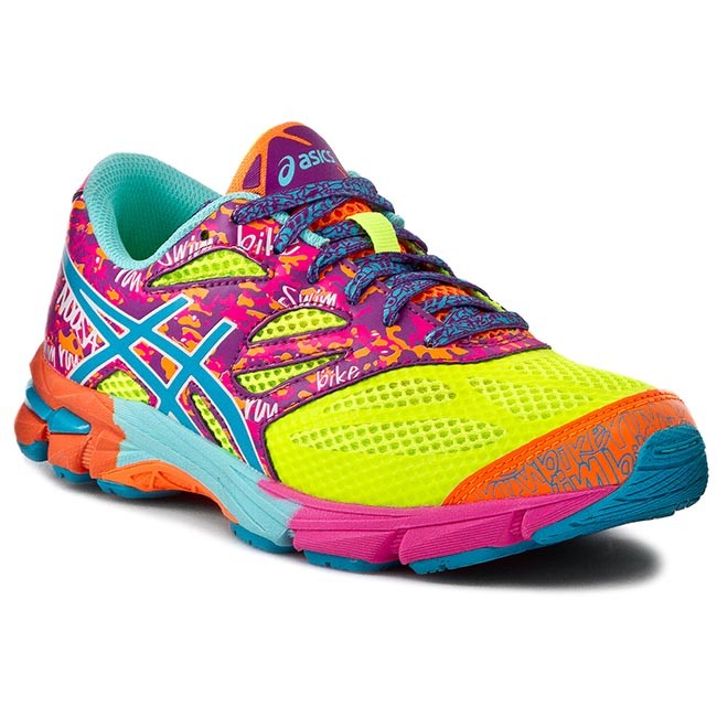 Polobotky ASICS - Gel-Noosa Tri 10 Gs C523N Flash Yellow Turquoise Flash c3513dacb6e