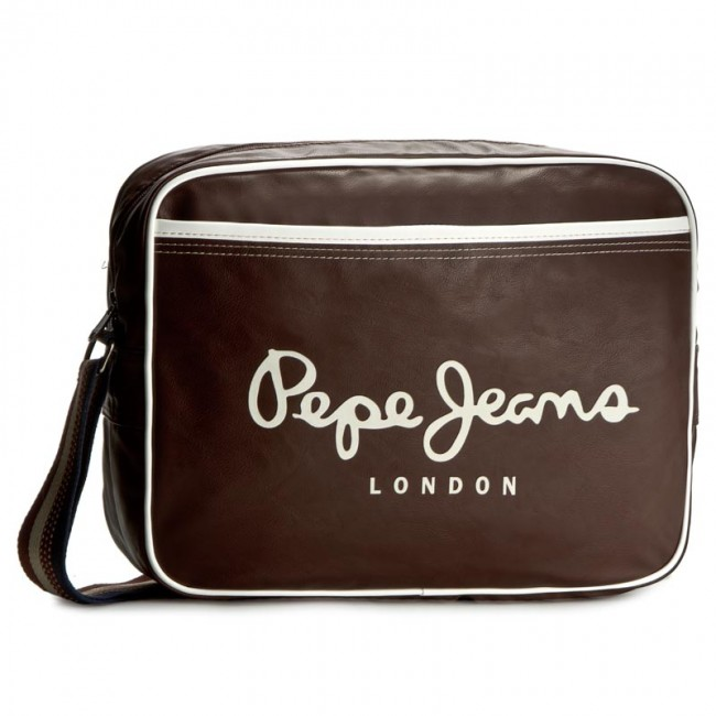 80b703281ad Brašna na notebook PEPE JEANS - Everet Bag PM030422 Brown 297 ...