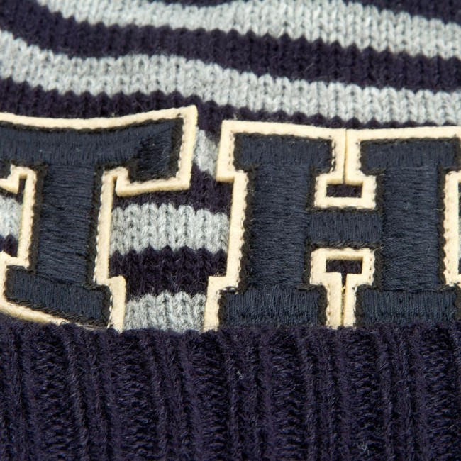 ec7c48cecab Pánská čepice TOMMY HILFIGER - Th Patch Hat Stripes AW0AW03336 901 ...