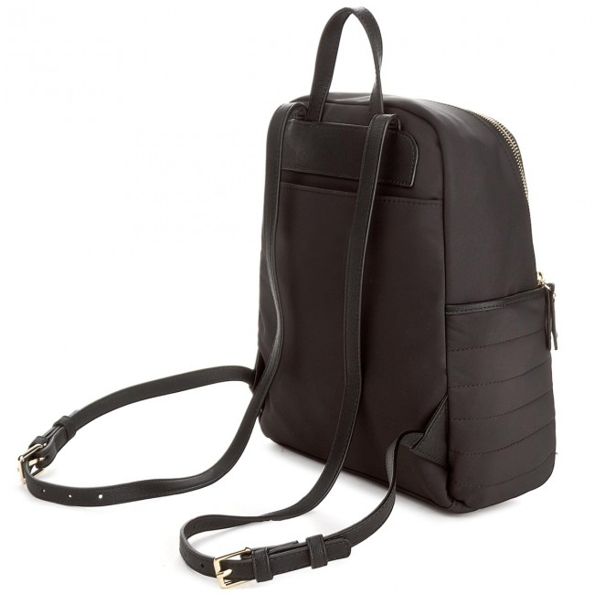 Batoh TOMMY HILFIGER - Chic Nylon Backpack AW0AW04840 002 - Ruksaky ... 1a464e9b52d