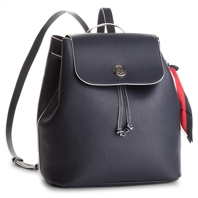 Batoh TOMMY HILFIGER - Charming Tommy Backpack AW0AW05125 413 ... beab863c333