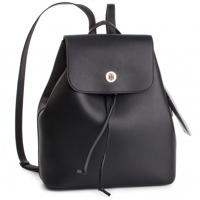 Batoh TOMMY HILFIGER - Charming Tommy Backpack AW0AW06457 002 ... 33914fb5e3