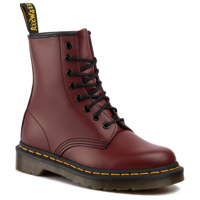 Glády DR. MARTENS - 1460 Smooth 10072600 Cherry Red