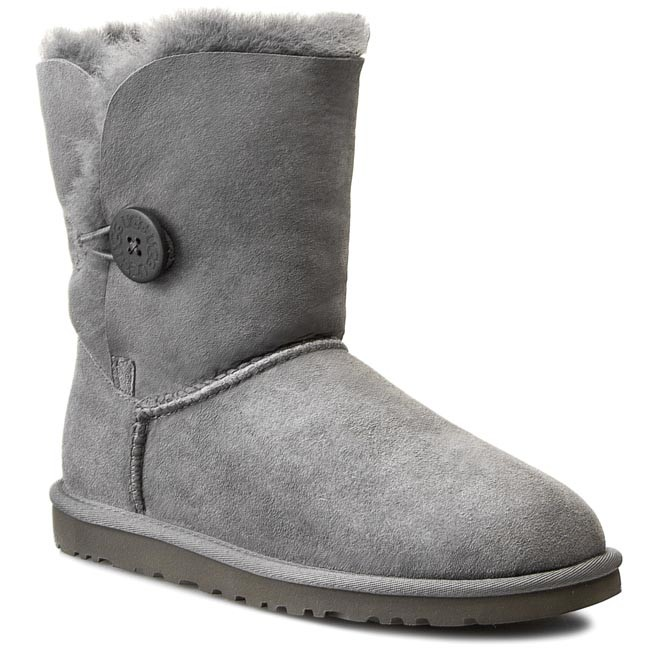 Boty UGG - W Bailey Button 5803 Grey