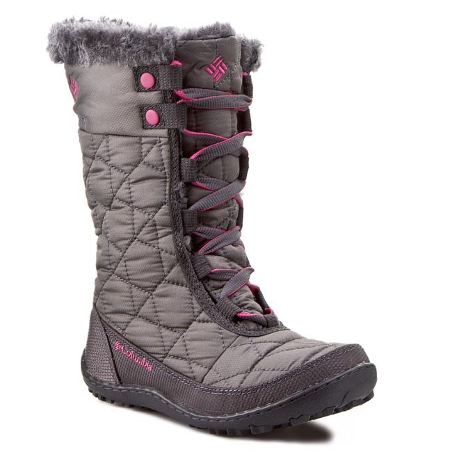 Sněhule COLUMBIA - Youth Minx Mid II Waterproof Omni-Heat BY 1313  Shale/Glamour 051