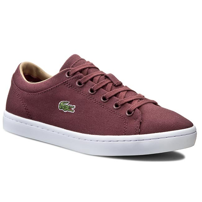 Tenisky LACOSTE - Straightset W Spw 7-30SPW0020DR2 Dk Red/Dk Red