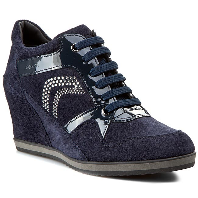 Sneakersy GEOX - D Ilusion A D5454A 02266 C4002 Navy