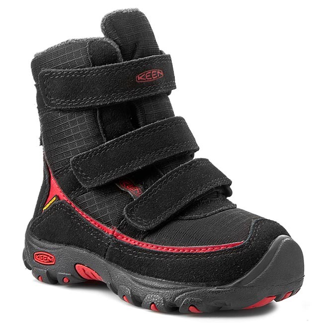 Sněhule KEEN - Trezzo WP 1011810 Black/Ribbon Red