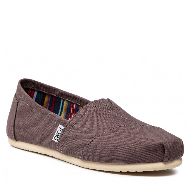 Polobotky TOMS - Classic 10000871 Ash